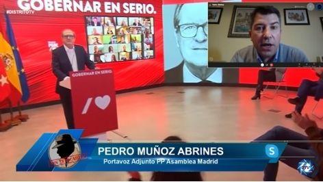 PEDRO MUÑOZ: LA PRIMERA DECISIÓN DE LOS SOCILISTAS ES SUBIR IMPUESTOS