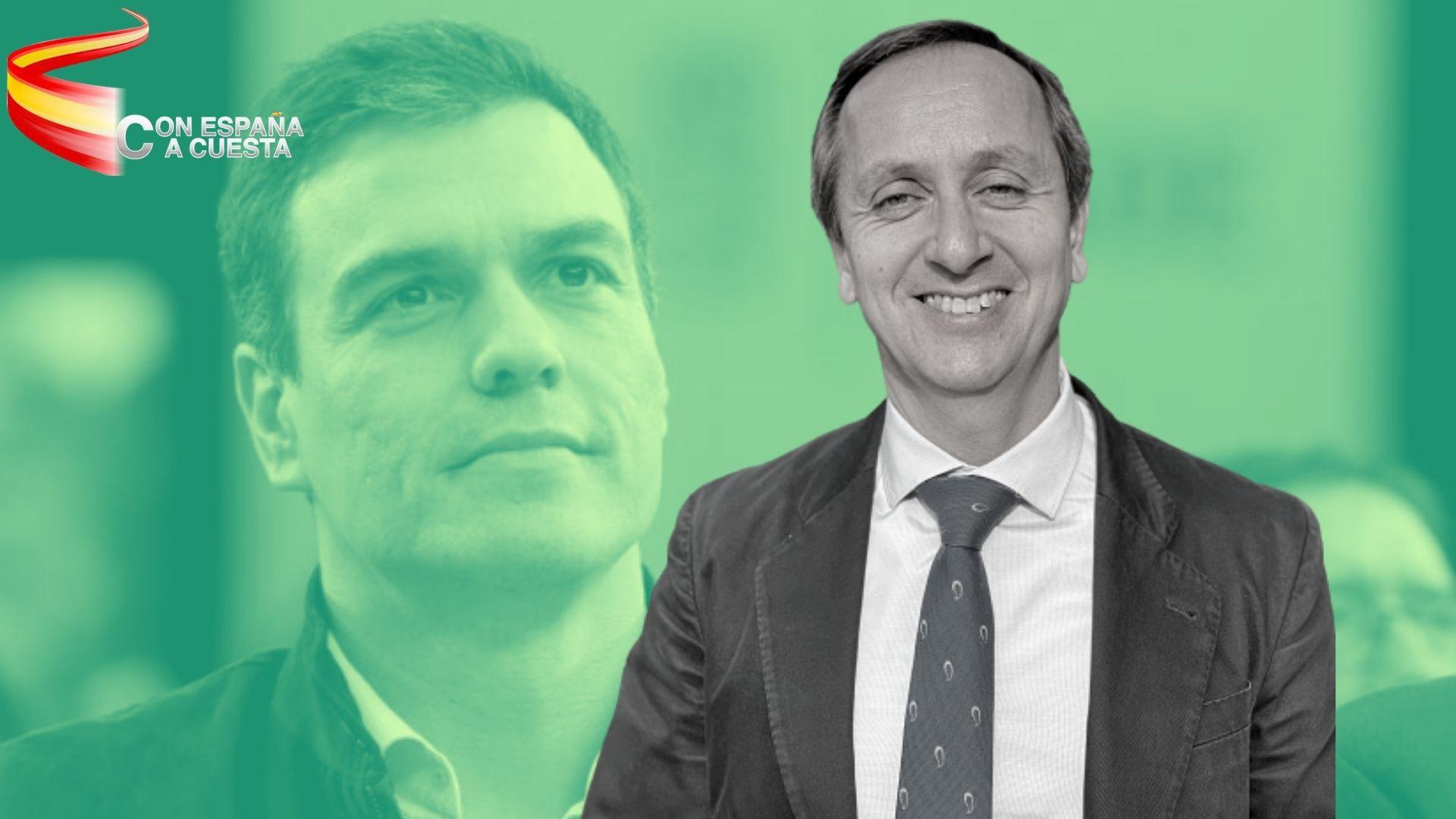 CARLOS CUESTA: ¡SÁNCHEZ VETE YA, POR COMPASIÓN!