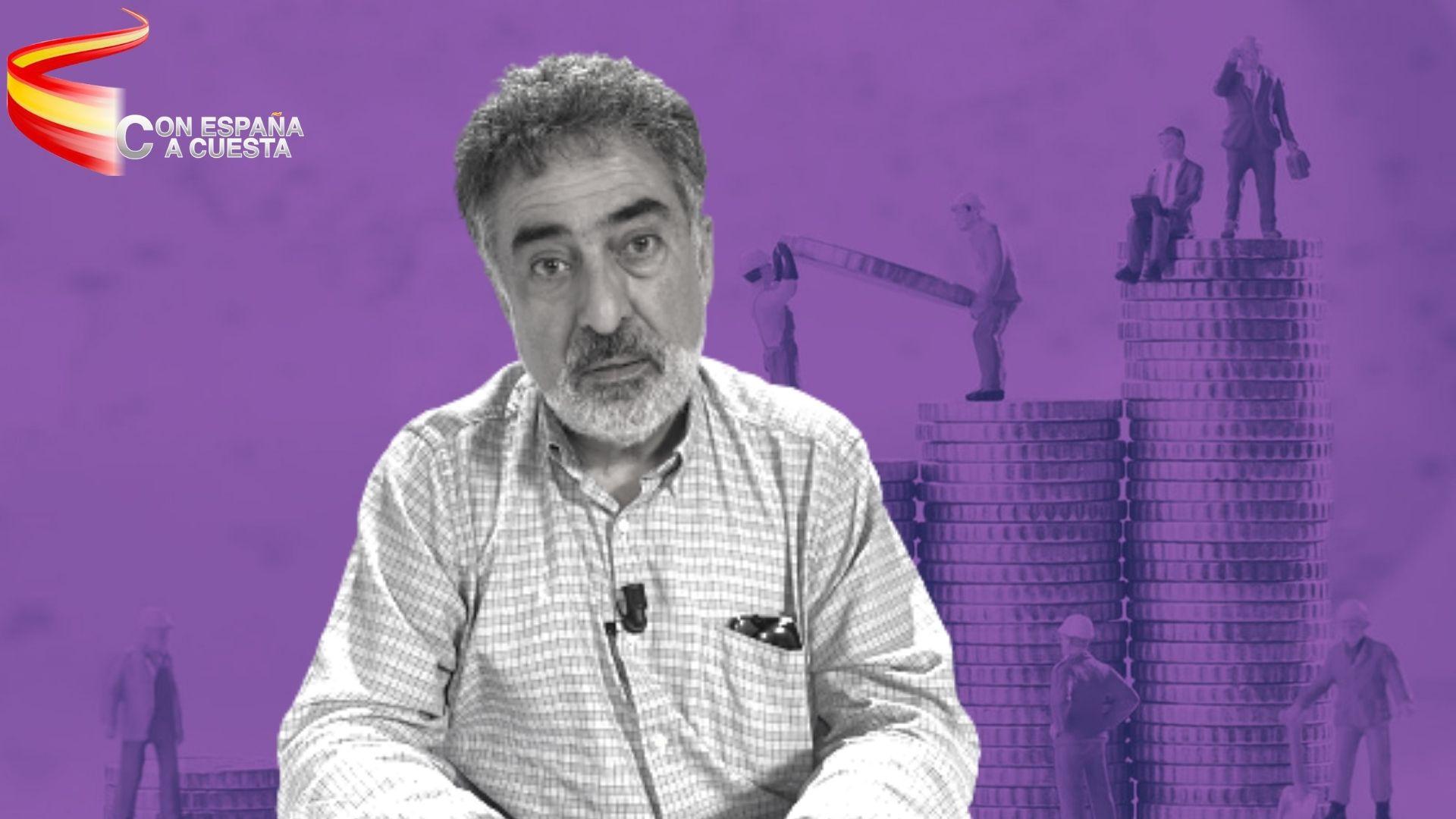 LUIS DEL PINO: ¡INFAME! TENEMOS EL IVA MÁS CARO DE EUROPA Y NOS SUBEN LOS IMPUESTOS