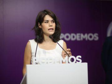 portavoz estatal de Podemos, Isa Serra
